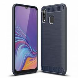 Husa Samsung Galaxy A30- Carbon Series- Albastra