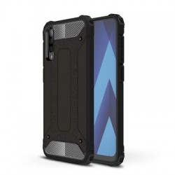 Husă Samsung Galaxy A70 -Hybrid Armor Tough Rugged-Black