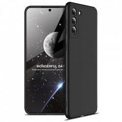 Husa Samsung Galaxy S21 -GKK 360+Screen Protector -Neagra
