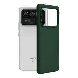 Husa Xiaomi Mi 11 Ultra -Soft Edge Silicone Dark Green