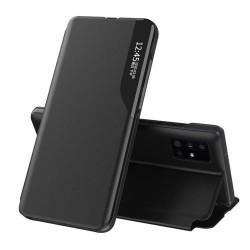 Husa Xiaomi Redmi Note 10/10s -Eco Leather View Case-Neagra