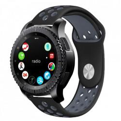 Curea Samsung Galaxy Watch 42MM-Tech Protect Softband-Black/Grey