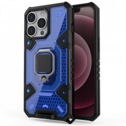 Husa Apple iPhone 13 Pro - Honeycomb Armor- Blue