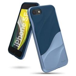 Husa Iphone 8-Ringke Wave - Albastra