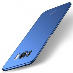 Husa MSVII Simple ultra-subțire pentru Samsung Galaxy S8 Plus culoare Albastra