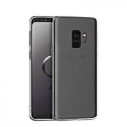 Husa Samsung Galaxy A6 Plus- iPaky Effort TPU transparenta +Sticla securizata 9H