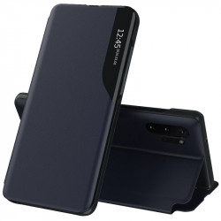 Husa Samsung Galaxy Note 10 Plus -Eco Leather View Case-Albastra