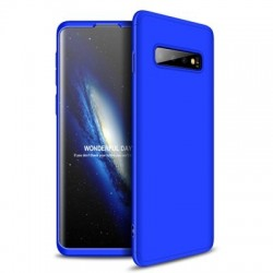 Husa Samsung Galaxy S10 Plus- GKK 360 Front and Back Case Full Body Cover- Albastra