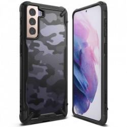 Husa Samsung Galaxy S21 Ringke Fusion X- Camo Black