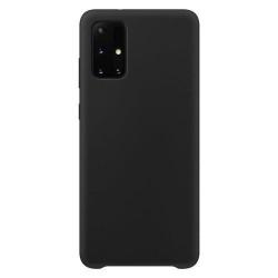Husa Samsung Galaxy S21- Silicone Case - Neagra