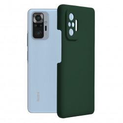 Husa Xiaomi Redmi Note 10 PRO -Soft Edge Silicone Dark Green