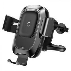 Suport auto cu incarcare wireless Baseus Smart -Negru