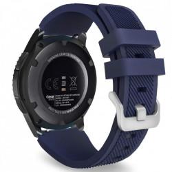 Curea Samsung Galaxy Watch 46MM-Tech Protect Smoothband-Midnight Blue