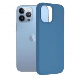 Husa Apple iPhone 13 Pro Max -Soft Edge Silicone Light Blue