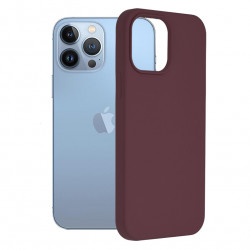 Husa Apple iPhone 13 Pro Max -Soft Edge Silicone Mov Pruna