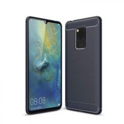Husa Huawei Mate 20 -Carbon Series-Albastra