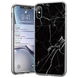 Husa Iphone 12 - Wozinsky Marble Black