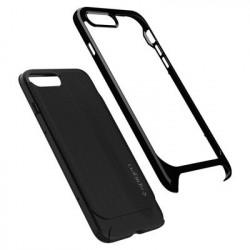 Husa Iphone 8 PLUS/Iphone 7 PLUS -Spigen Neo Hybrid Herringbone- Shiny Black