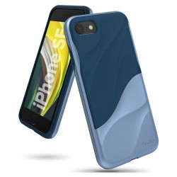 Husa Iphone SE 2020-Ringke Wave - Albastra