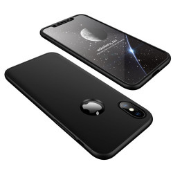 Husa Iphone XS /Iphone X -GKK 360 Front and Back Case Full Body Cover -Neagra