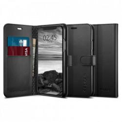 Husa Iphone XS /Iphone X -Spigen Wallet S Neagra