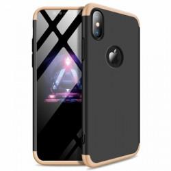 Husa Iphone XS MAX-GKK -Negru cu Auriu
