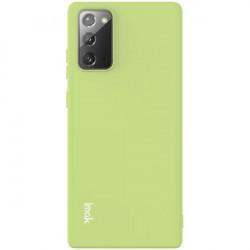 Husa Samsung Galaxy Note 20- Imak Gel TPU Case- Light Green