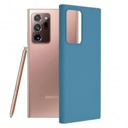 Husa Samsung Galaxy Note 20 Ultra -Soft Edge Silicone Light Blue