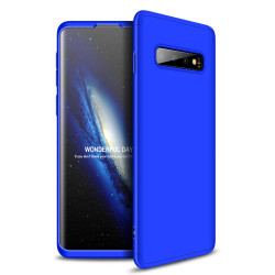 Husa Samsung Galaxy S10-GKK Front and Back Case Full Body Cover- Albastra