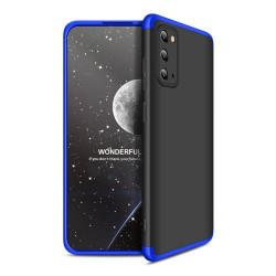 Husa Samsung Galaxy S20 -GKK -Negru cu Albastru