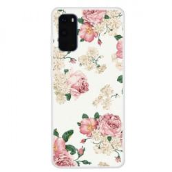 Husa Samsung Galaxy S20 - Matt Printing Soft TPU-Roses