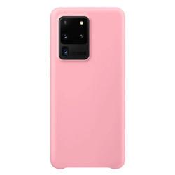 Husa Samsung Galaxy S20 Ultra- Silicone Case -Roz