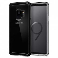 Husa Samsung Galaxy S9-Spigen Neo Hybrid Crystal- Midnight Black