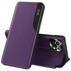 Husa Xiaomi Mi 11 Lite -Eco Leather View Case-Purple