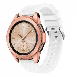 Curea Samsung Galaxy Watch 42MM-Tech Protect Smoothband-White