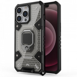 Husa Apple iPhone 13 Pro - Honeycomb Armor- Black