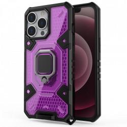 Husa Apple iPhone 13 Pro - Honeycomb Armor- Rose Violet