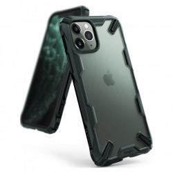 Husa Iphone 11 PRO MAX- Ringke Fusion X cu bumper de protecție TPU Green