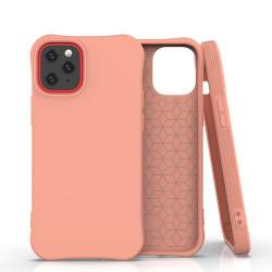 Husa Iphone 12 PRO /Iphone 12 -Soft Color Case flexible gel-portocalie