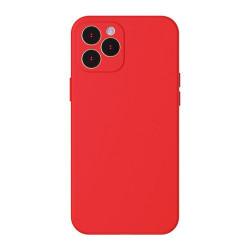 Husa Iphone 12 PRO MAX- Baseus Silica Gel - Rosie