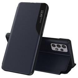 Husa Samsung Galaxy A52 -Eco Leather View Case-Albastru inchis