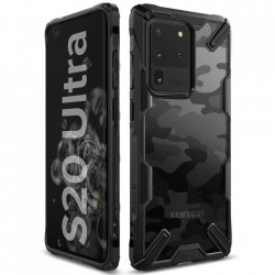 Husa Samsung Galaxy S20 Ultra- Ringke Fusion X- Camo Black
