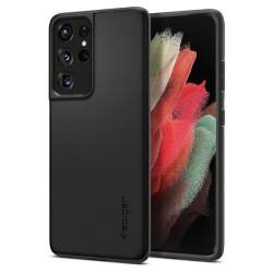 Husa Samsung Galaxy S21 Ultra- Spigen Thin Fit -Black