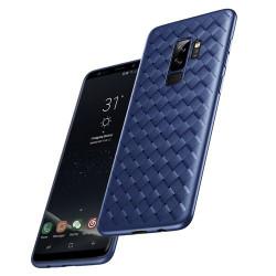 Husa Samsung Galaxy S9 Plus-Baseus BV Weaving Case -Albastra