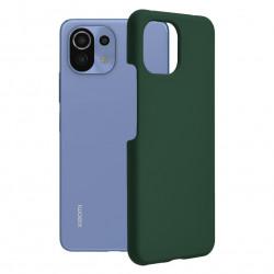 Husa Xiaomi Mi 11 Lite -Soft Edge Silicone Dark Green