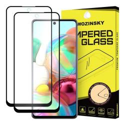 Sticla securizata Samsung Galaxy A71 - Wozinsky Full Glue , Full Coveraged x 2-margine neagra