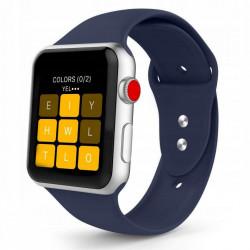 Curea Apple Watch SE 44MM-Tech Protect Iconband-Midnight Blue