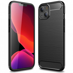 Husa Apple iPhone 13-Carbon Series-Black