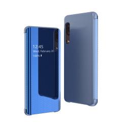 Husa Flip View pentru Samsung Galaxy A50/A30S/A50s -Albastra