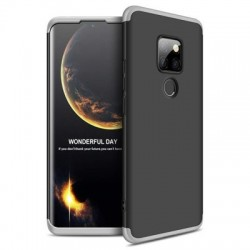Husa Huawei Mate 20 -GKK -Neagra cu argintiu